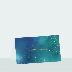 starry-night-foil-place-card
