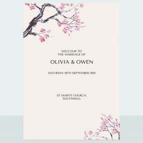 Cherry Blossom - Order Of Service