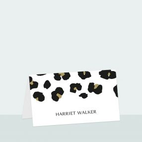 leopard-print-place-card