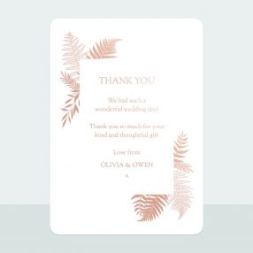metallic-ferns-foil-thank-you-card