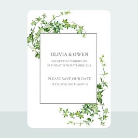 Ivy Garland - Save the Date Cards