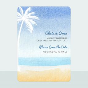 Palm Beach - Save the Date Cards