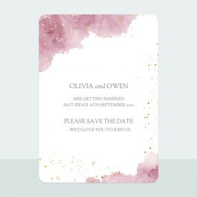 pink-inkwash-foil-save-date-cards