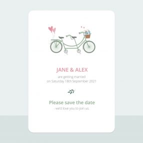 Sweet Tandem - Save the Date Cards