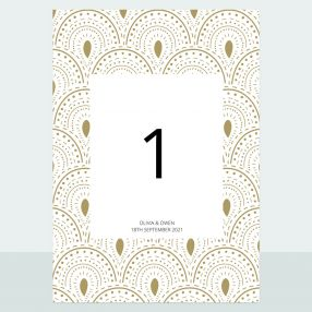 scallop-border-table-name-number