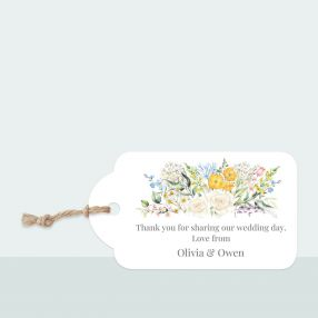 Spring Bouquet - Favour Tag