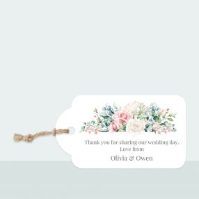 Summer Bouquet - Favour Tag