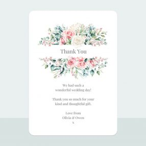 Summer Bouquet - Thank You Card