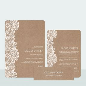 traditional-rustic-lace-wedding-invitation-information-suite