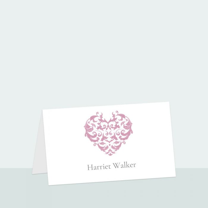 baroque-heart-place-card