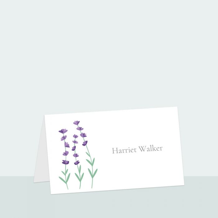 lavender-field-place-card