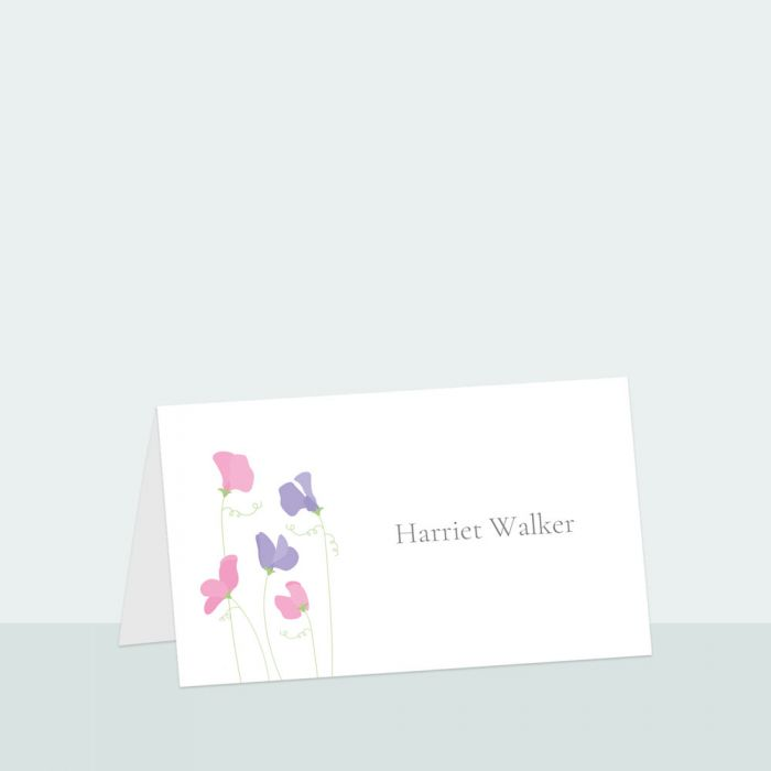 sweet-peas-place-card