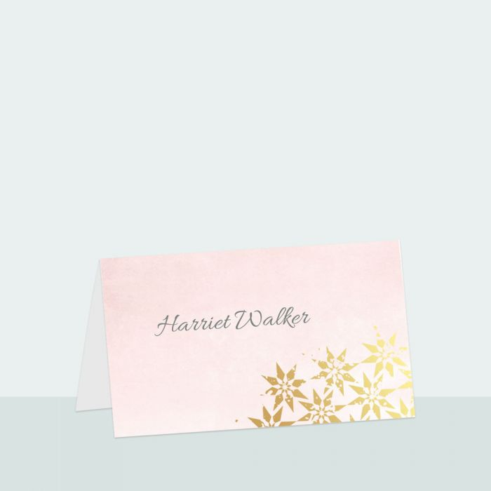 moroccan-star-foil-place-card