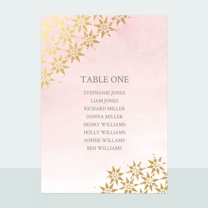 moroccan-star-foil-table-plan-cards