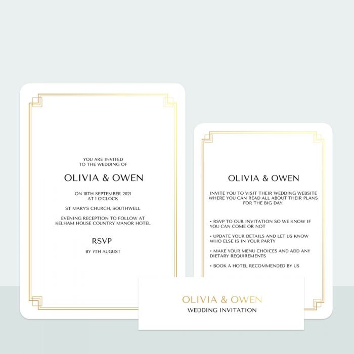 art-deco-border-foil-wedding-invitation-rsvp-suite