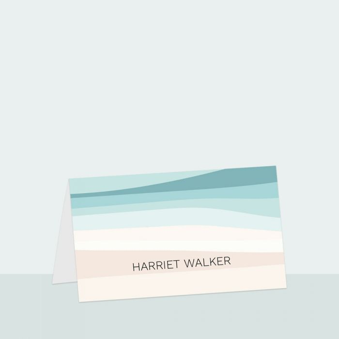 abstract-beach-place-card