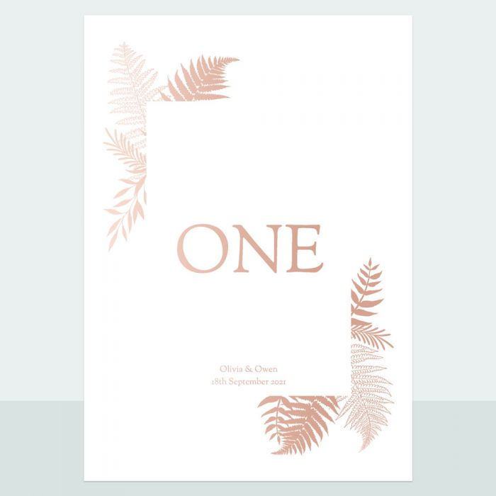 metallic-ferns-foil-table-name-number