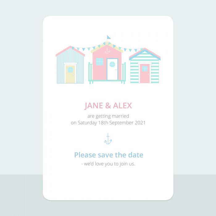 pastel-beach-huts-save-date-cards