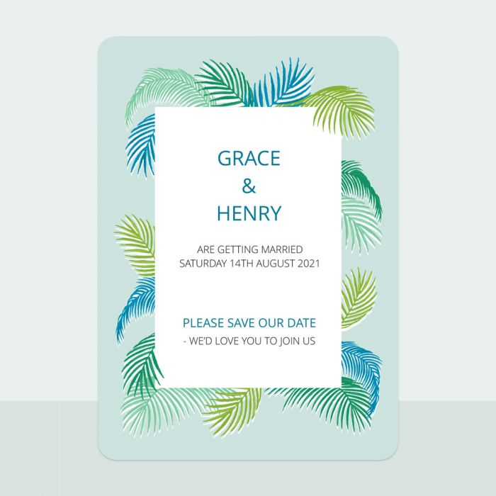 tropical-fern-save-date-cards