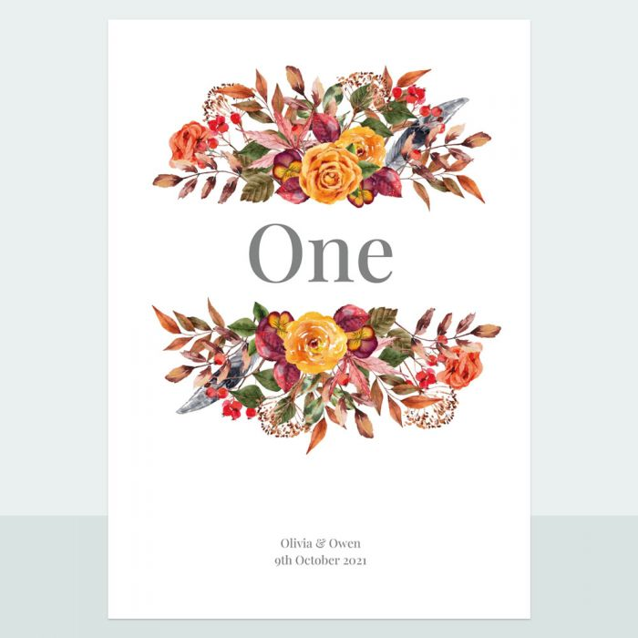 autumn-bouquet-table-name-number