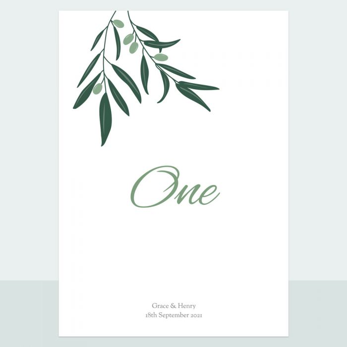 olive-branch-table-name-number