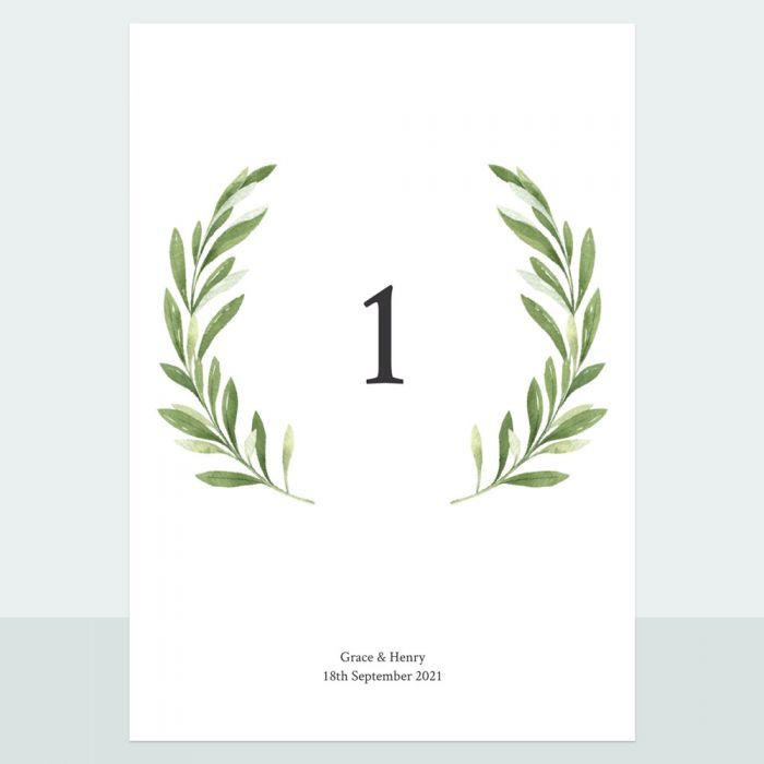 olive-wreath-table-name-number