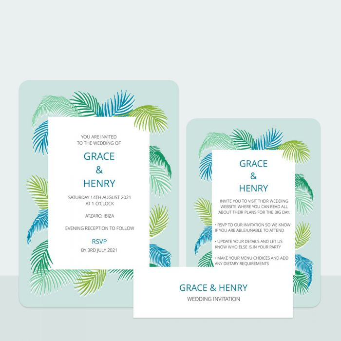 tropical-fern-wedding-invitation-information-suite