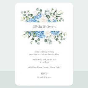 hydrangea-bouquet-evening-invitation