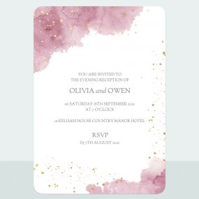 pink-inkwash-foil-evening-invitation