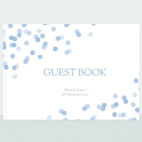 Confetti Sprinkle - Wedding Guest Book thumbnail