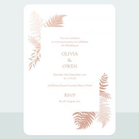metallic-ferns-foil-evening-invitation
