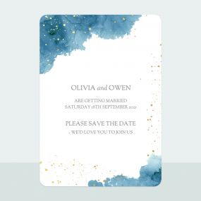 blue-inkwash-foil-save-date-cards
