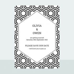 honeycomb-iridescent-save-date-cards