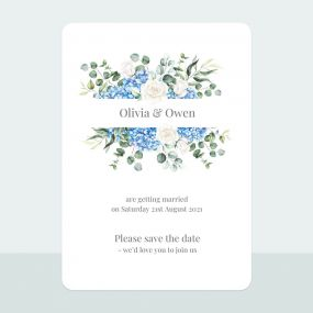 hydrangea-bouquet-save-date-cards