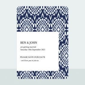 ikat-print-save-date-cards