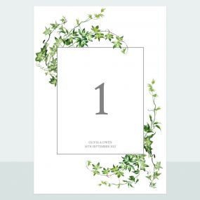 ivy-garland-table-name-number