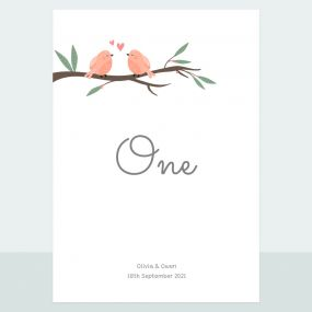 love-birds-table-name-number