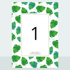 tropical-palm-table-name-number