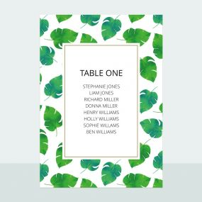 tropical-palm-table-plan-cards