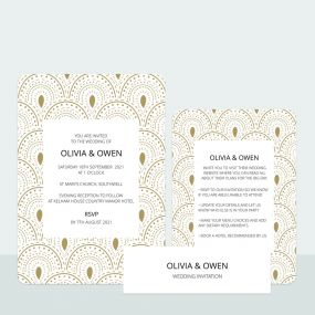 scallop-border-wedding-invitation-information-suite